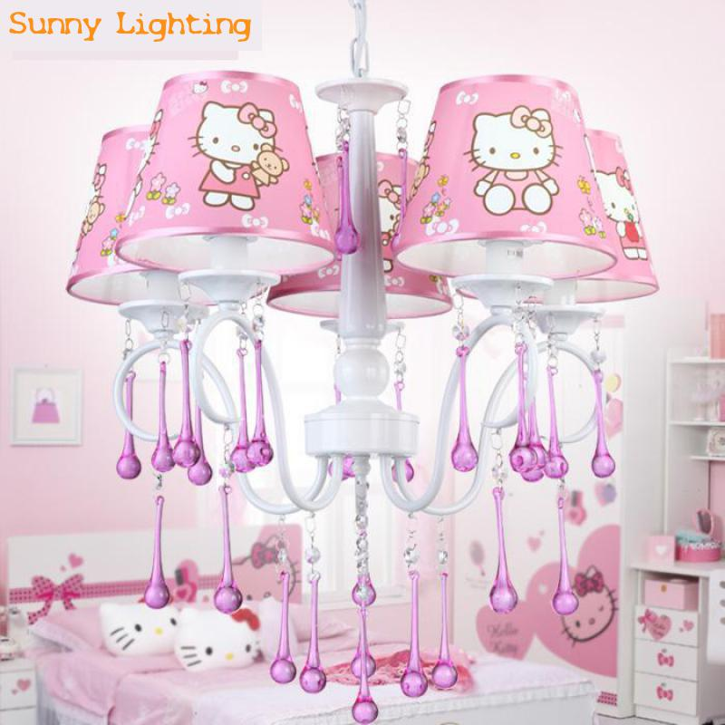 Kitty Cat Night Lamp Children Bedroom Warm Bedside EU Plug Night - Hello kitty lamps for bedroom