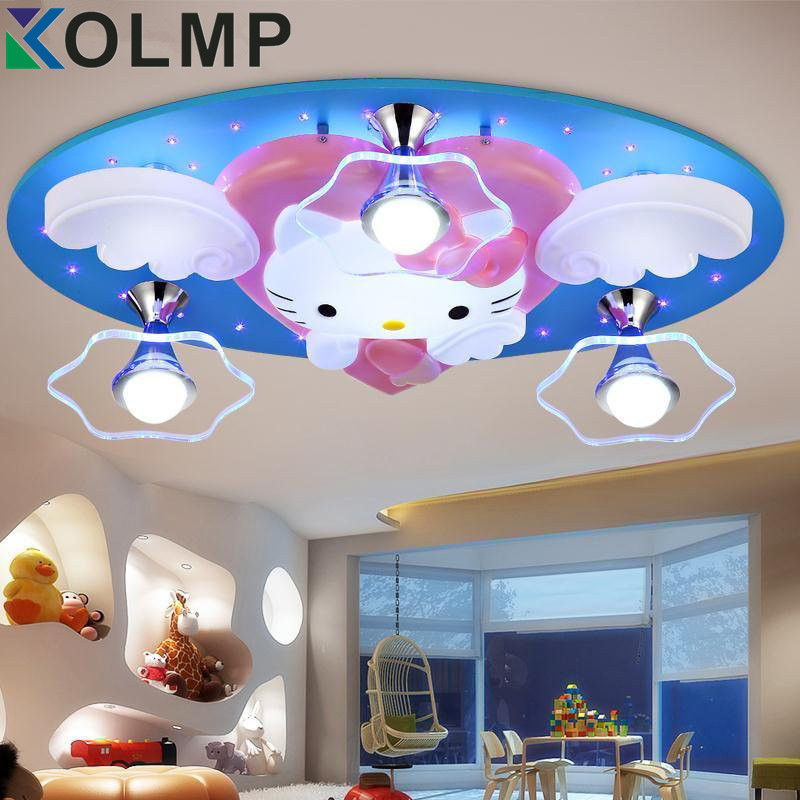 Kids Room Lighting Fixtures: Newest Hello Kitty Cat LED Ceiling Lights Fixture Cute