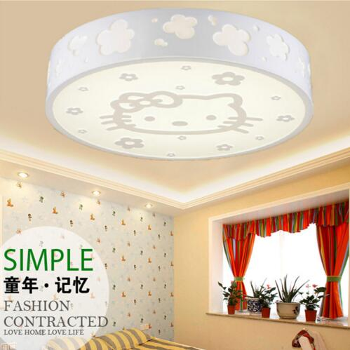 ACV W Dimmable Ceiling Lights Hello Kitty Design LED Lamps - Hello kitty lamps for bedroom
